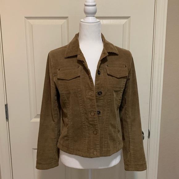 CAbi Jackets & Blazers - CAbi Brown Corduroy Jean jacket. Sz S